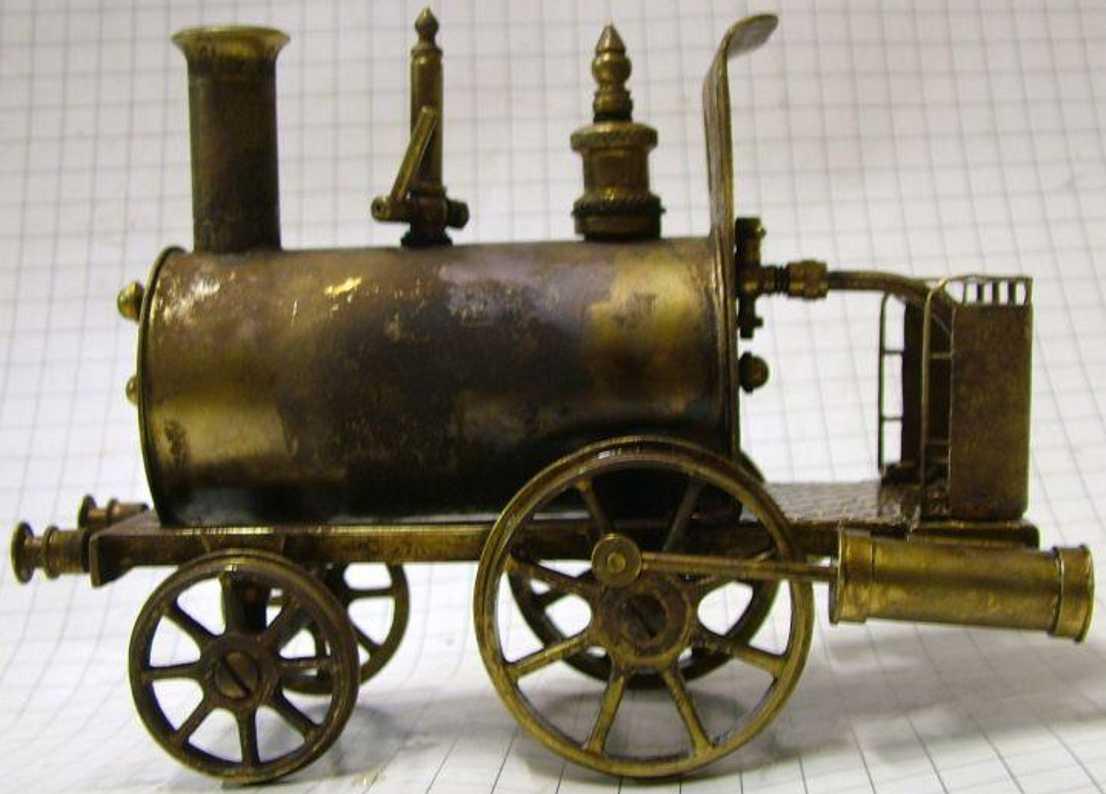 stevens's model dockyard dampfspielzeug fahrbare spirituslokomotive