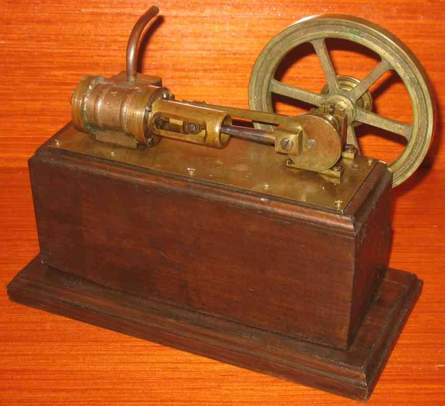 stevens's model dockyard horizontal steam toy