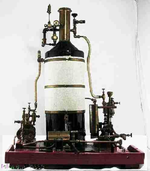tehende dampfmaschine pfeife