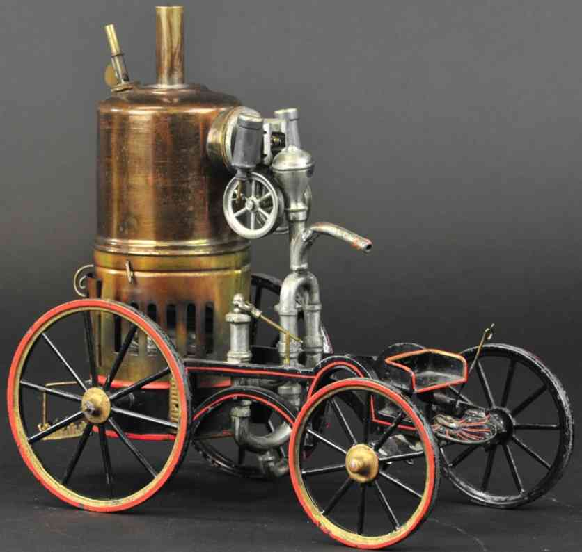 union manufacturing company steam toy vehicle steampumper
