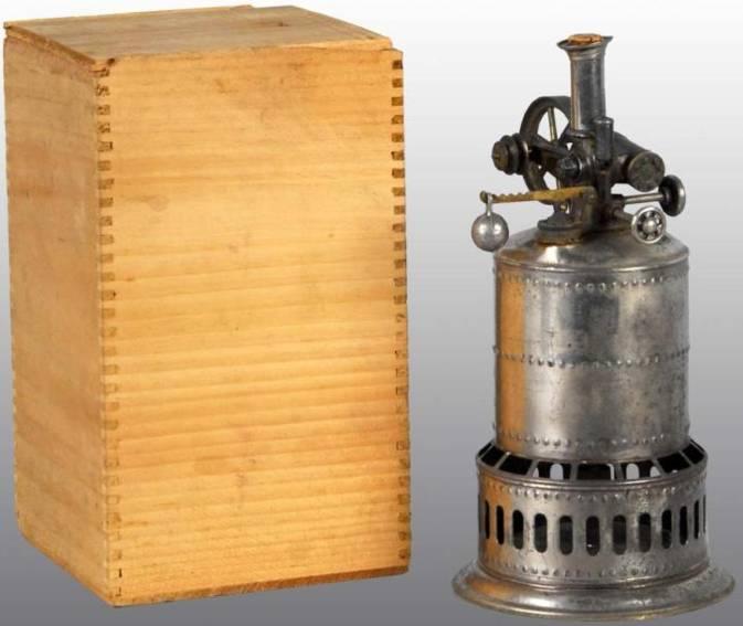 weeden 1 dampfspielzeug stehende dampfmaschine dampfmaschine vernickelt mit sicherheitsventil, drosselventi