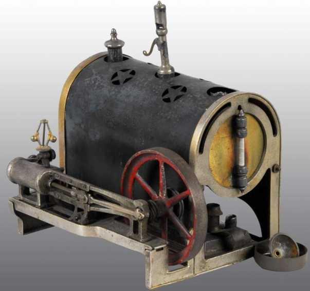 Weeden 10 Liegende Dampfmaschine