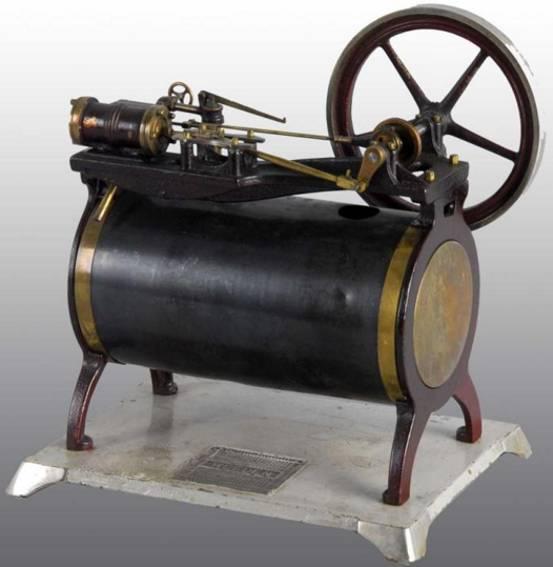 Weeden 121 Liegende Dampfmaschine
