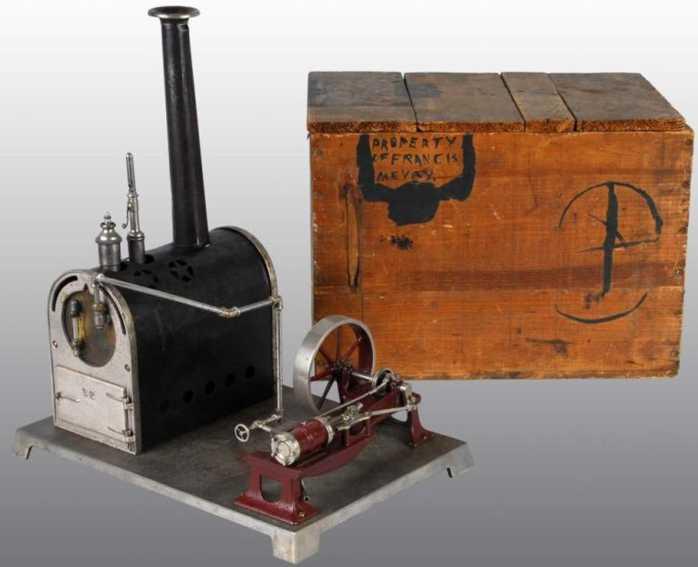 weeden 124 dampfspielzeug liegende dampfmaschine