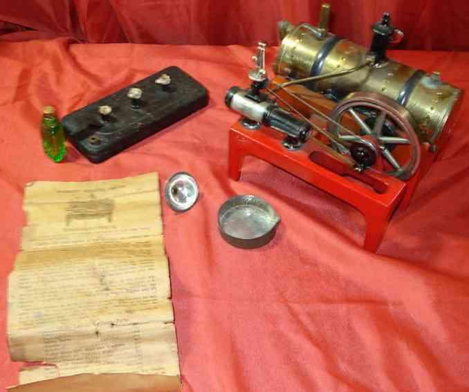 weeden 14 dampfspielzeug liegende dampfmaschine dampfmaschine