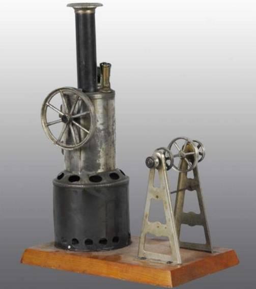 weeden 143 dampfspielzeug stehende dampfmaschine dampfmschine mit pfeife, wasserglas, brenner oszillierende z