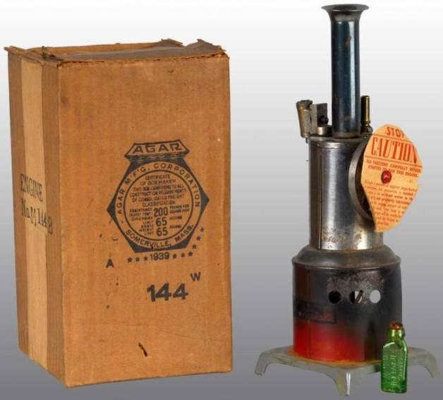 Weeden 144 Stehende Dampfmaschine