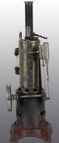 Weeden 156 Stehende Dampfmaschine mit Umkehrmotor
