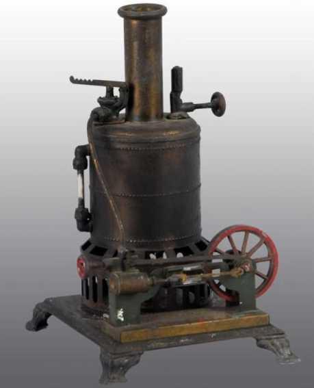 weeden 16 dampfspielzeug stehende kesseldampfmaschine