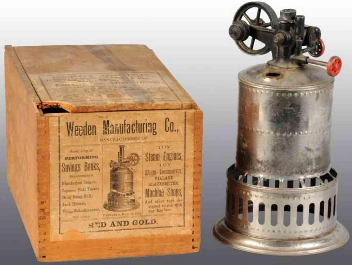 Weeden 1 Stehende Dampfmaschine