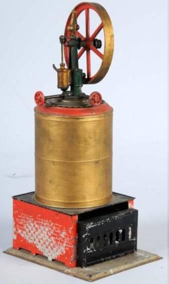 weeden 4 dampfspielzeug stehende dampfmaschine doppelte kesselwand