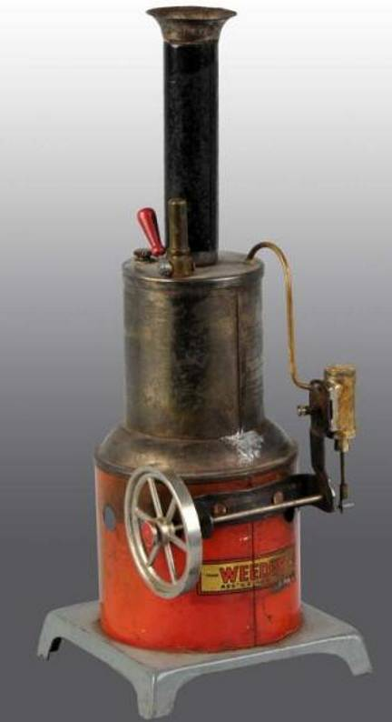 Weeden 641 Upright steam engine