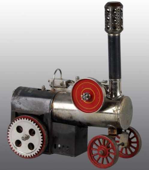 Weeden 643  Mobile Lokomobile Steam traction engine flywheel variation