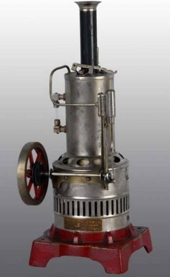 Weeden 664 Senkrecht stehende elektrische Dampfmaschine
