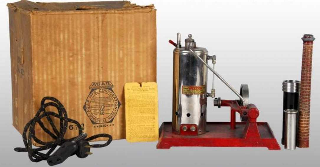 Weeden 672 Elektrisch beheizte senkrechte Dampfmaschine