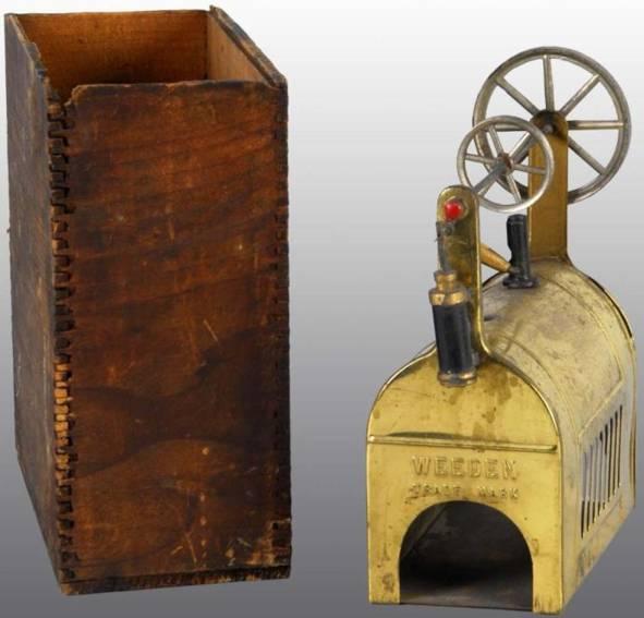 weeden 71 horizontal steam toy steam engine, this is a variation of the weeden no. 71 engin
