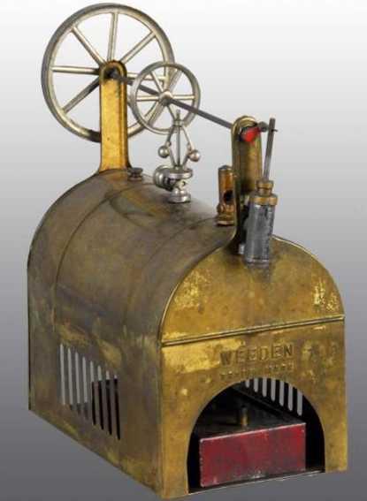 Weeden 72 Horizontale Dampfmaschine