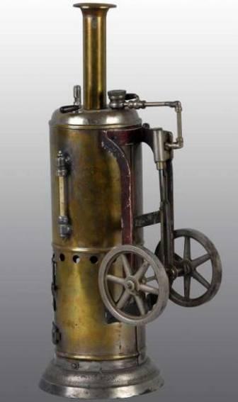 weeden 76 vertical steam toy upright engine