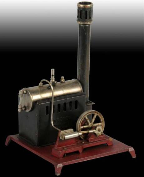 weeden 79 horizontal steam toy horizontal steam engine with smoke stack with spark arrestor