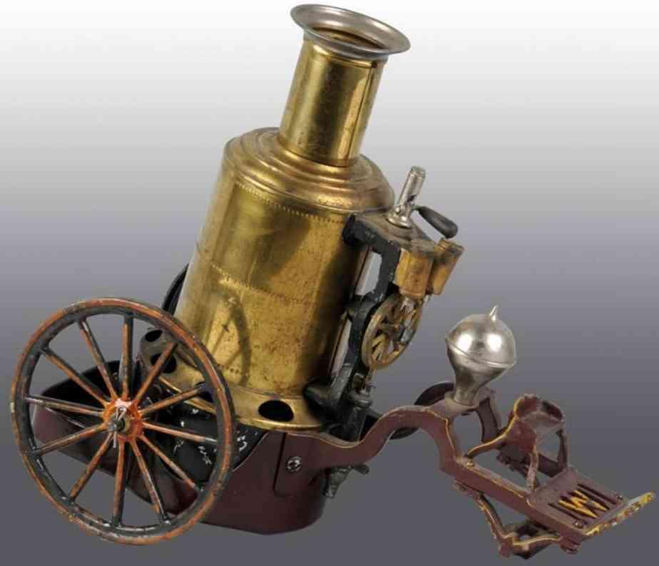 Weeden Pferdewagen mit stehender Dampfmaschine