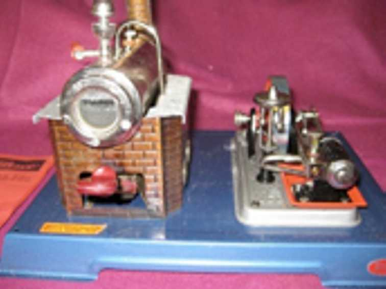 Wilesco D9 / D10 Horizontal Steam Engine
