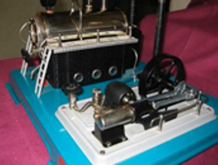 Wilesco D18 Horizontal Steam Engine