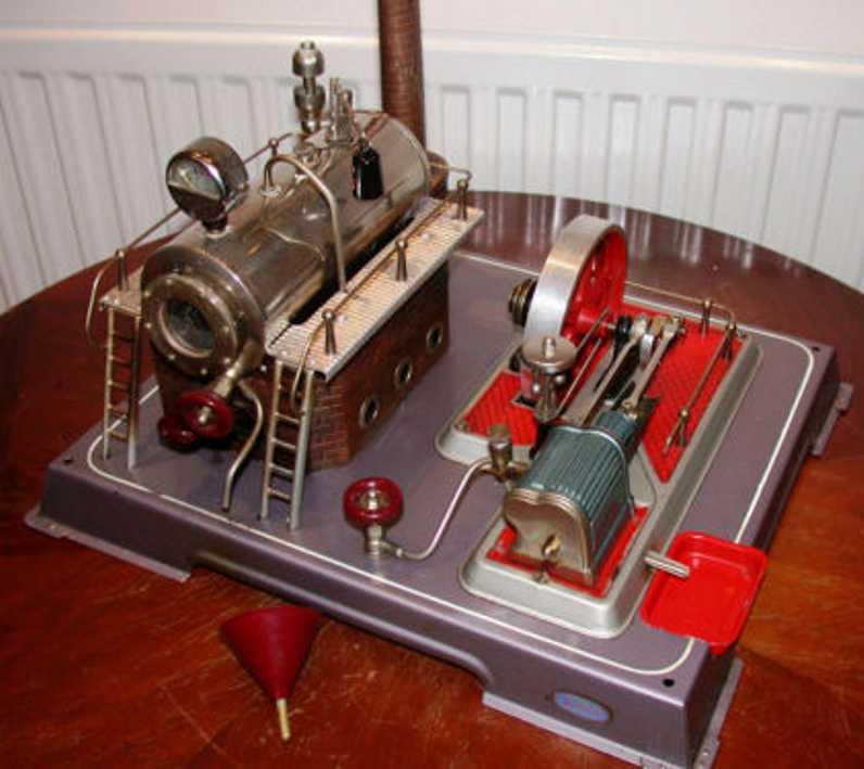 Wilesco D20 1. Generation Vertical-Steam-Engine