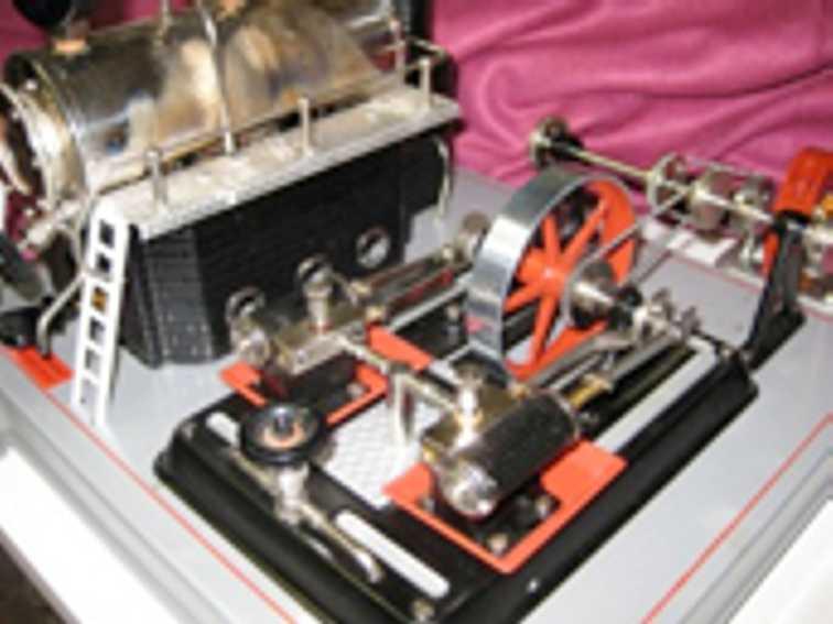 Wilesco D22 Horizontal Steam Engine
