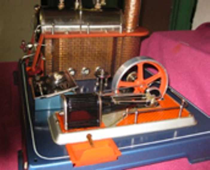 Wilesco D24 Horizontal Steam Engine