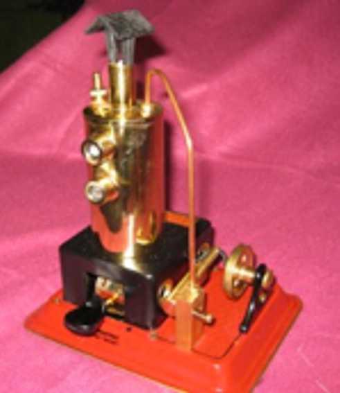 Wilesco D3 Vertical boiler