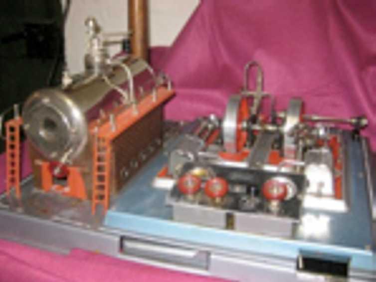Wilesco D32 Liegende Dampfmaschine