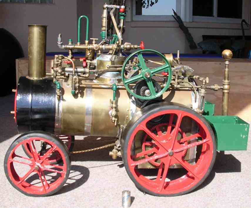 Wilson A.B. Small steam tractor
