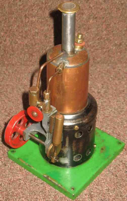 wilson ab dampfspielzeug stehende dampfmaschine