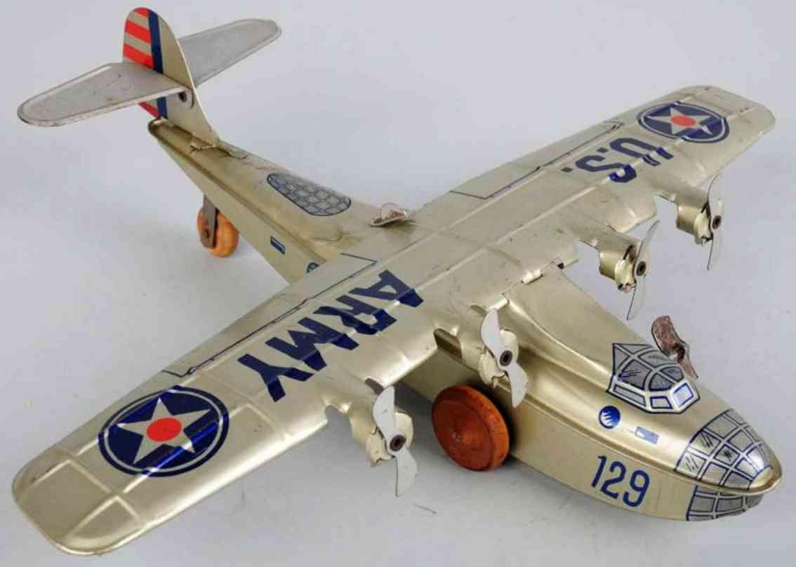 chein co 129 blech spielzeug wasserflugzeug