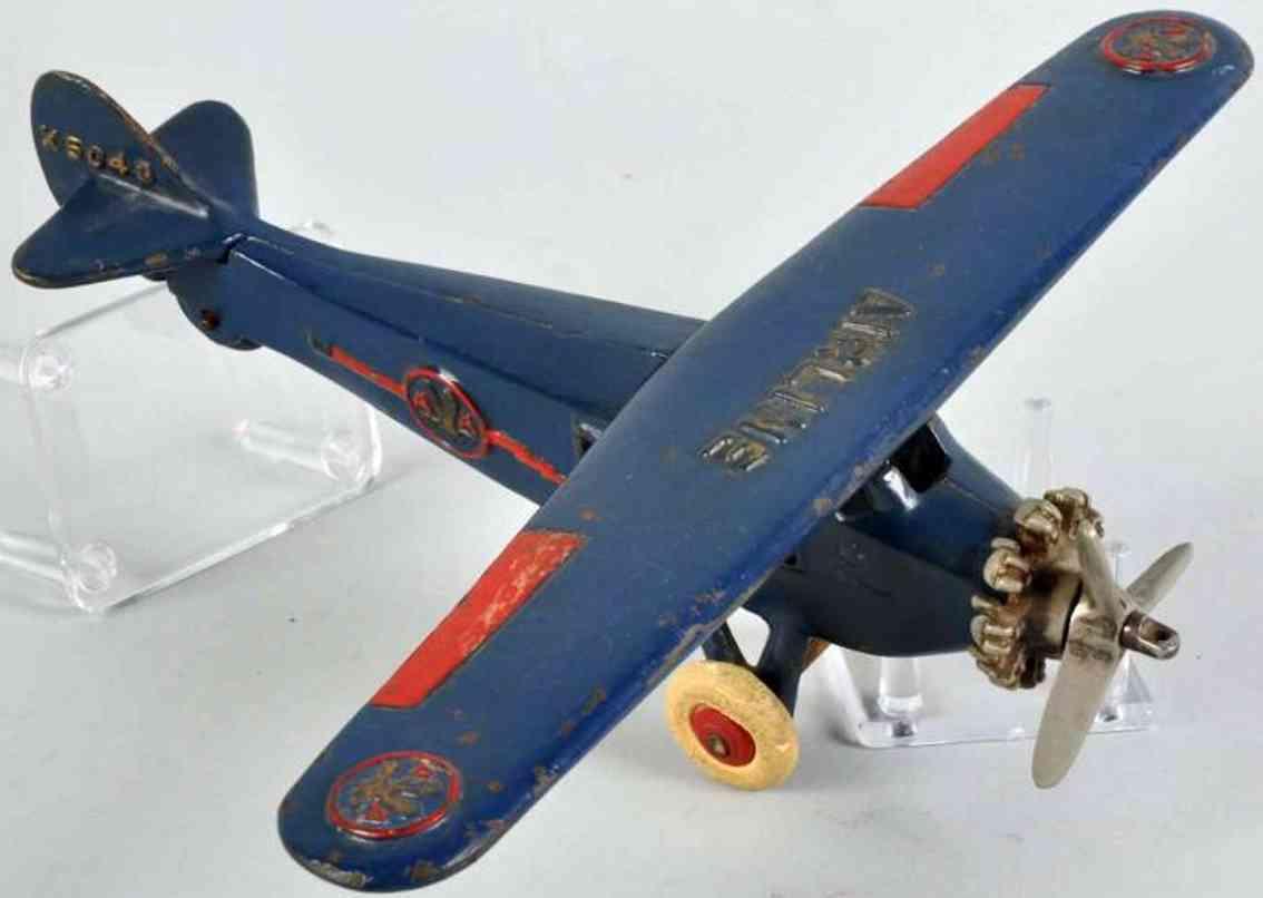 dent hardware co x 5043 gusseisen flugzeug amerikanische airline