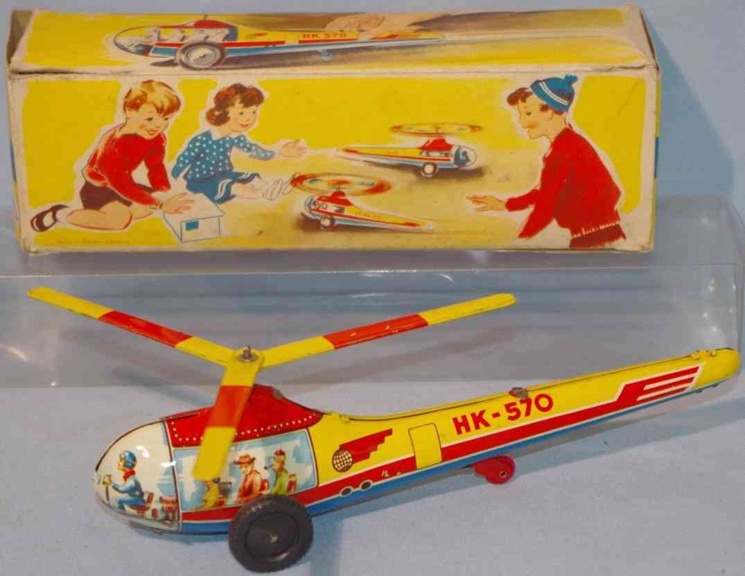 hammerer & kuhlwein 570 tin toy helicopter flywheel drive