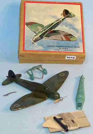 Heinkel 819B Zerlegbares Flugzeug