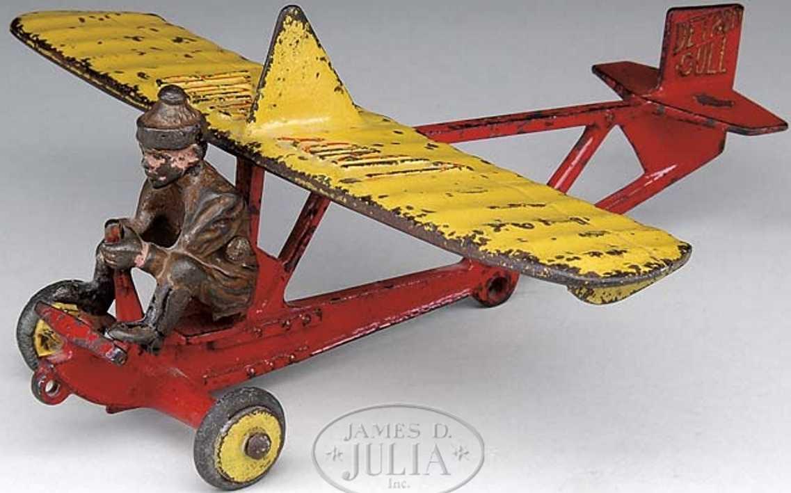 Hubley Airplane Dual cowl republic