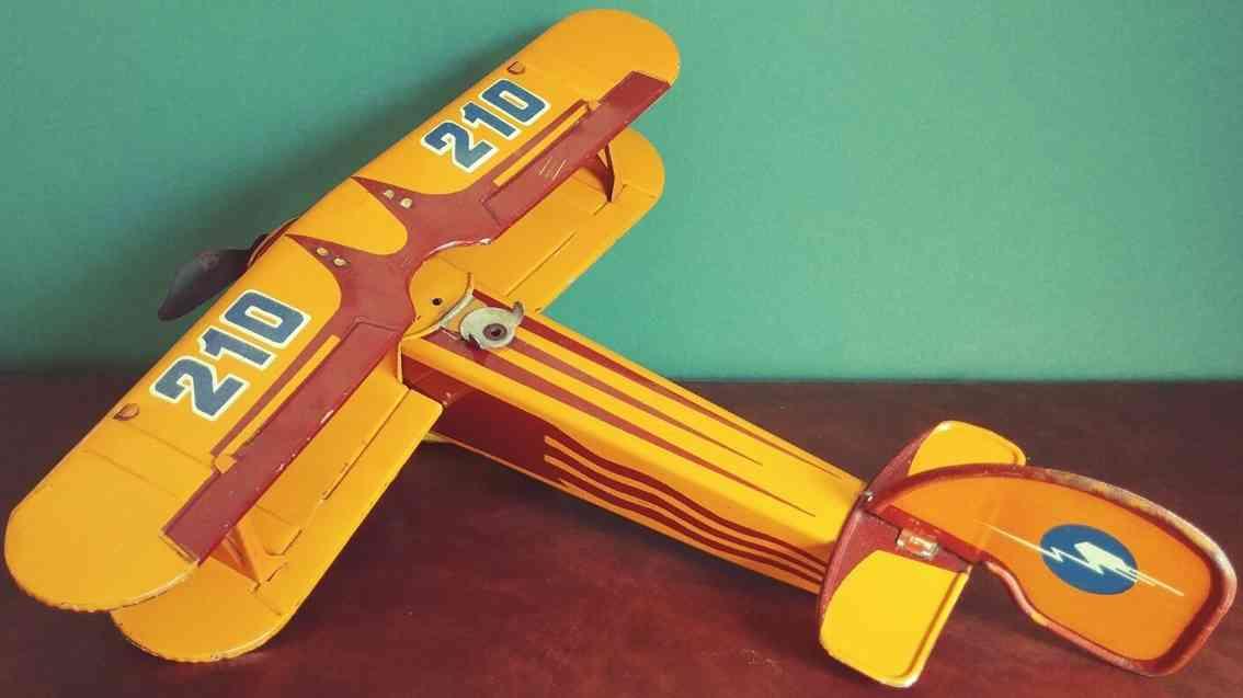 ingap 210 blech spielzeug flugzeug