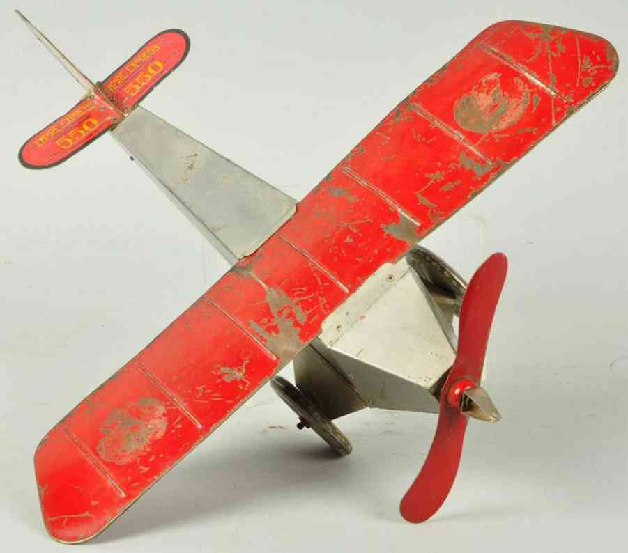 Katz Toy Company 550 empire express monoplane