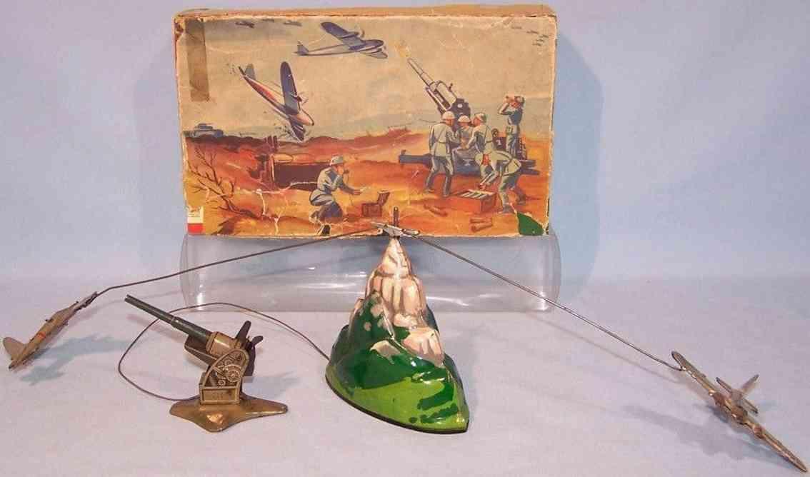 keim 234 blech flugzeug militaerspielzeug uhrwerk