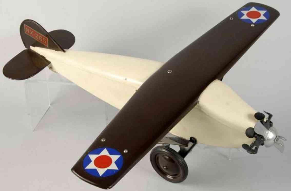 keystone nx-265 stahlblech spielzeug flugzeug