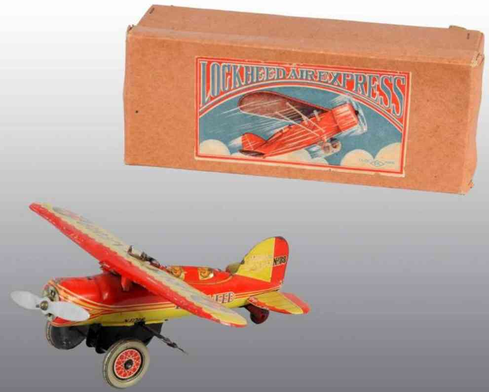 Kuramochi Blechflugzeug mit Uhrwerk, Lockheed air expres