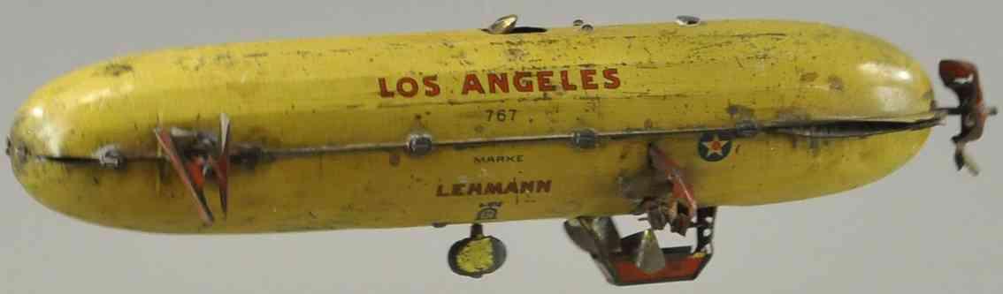 lehmann 767 blech spielzeug los angeles amerikanisches luftschiff zeppelin
