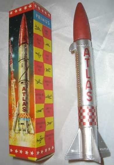 lehmann 932 tin toy atlas rocket