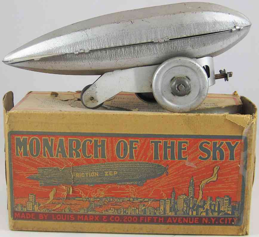 marx louis blech spielzeug zeppelin monarch of the sky