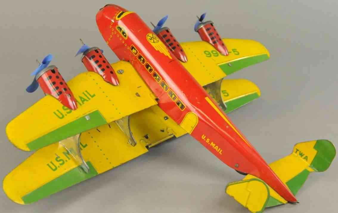marx louis blech spielzeug postflugzeug 990-5