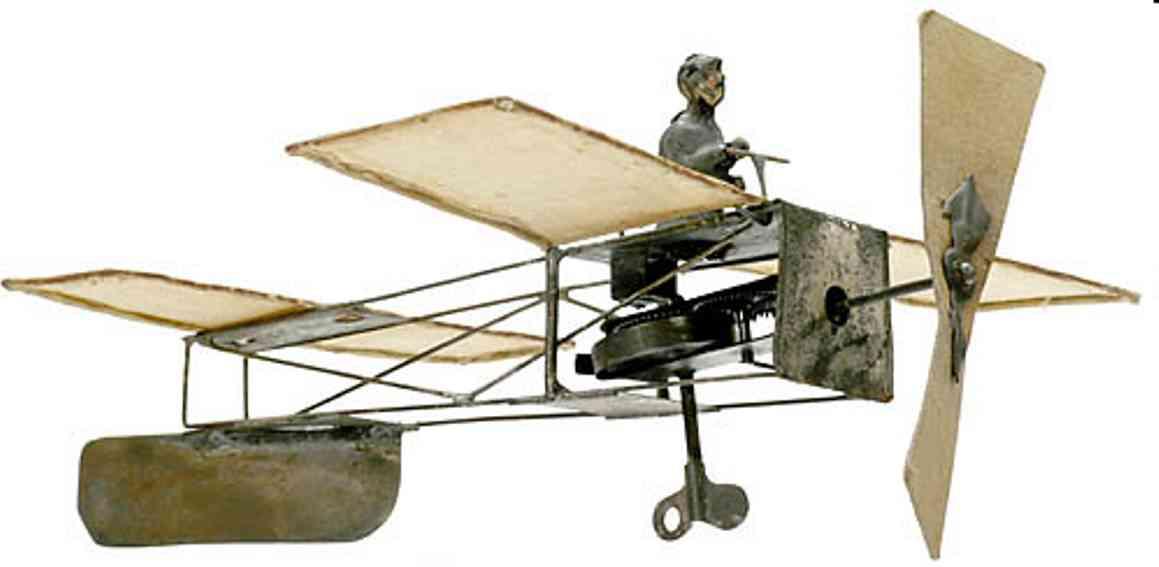 Plank Ernst Eindecker im Gendenken an  Louis Blériot's erstem Kanalflug