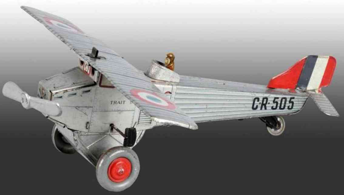 Rossignol CR 505 Airplane wind-up toy