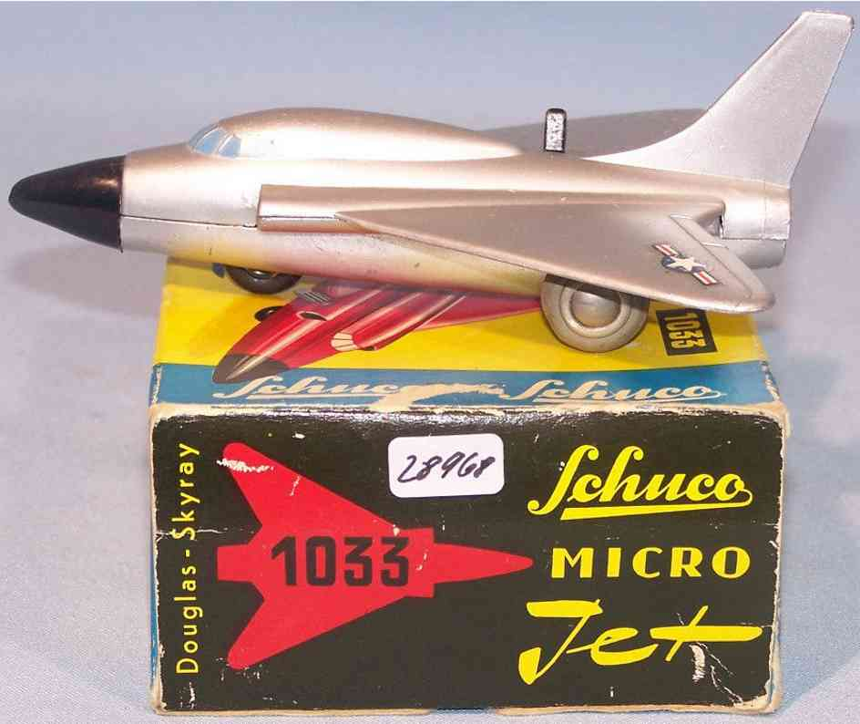schuco 1033 blech spielzeug micro jet douglas-skyray